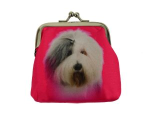 Old English Sheepdog Coin Purse-0