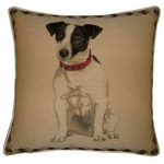 Jack Russell Tapestry Cushion Cover-0