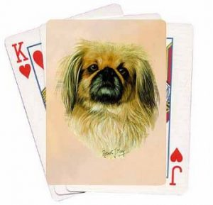 Pekingese - Deck of Playing Cards-0
