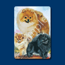 Pomeranian- Deck of Playing Cards-0