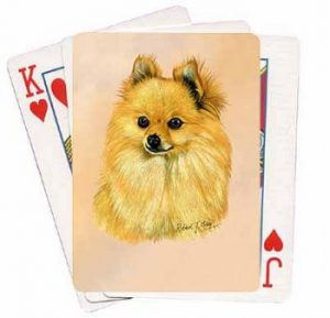 Pomeranian - Deck of Playing Cards-0