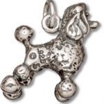 Sterling Silver Poodle Charm-0