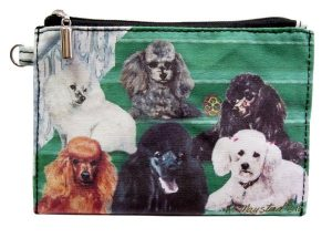 Poodle - Zippered Pouch-0