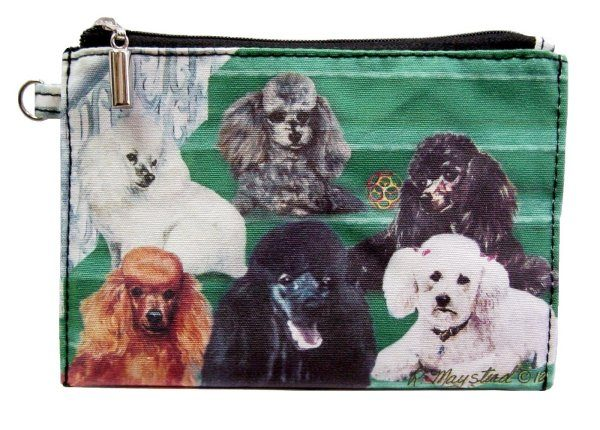 Poodle  – Zippered Pouch-0