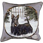 Scottish Terrier - Tapestry filled cushion-0