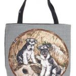 Schnauzer - Tapestry Tote bag-0