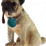 Pug Sitting figurine-0