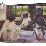 Pugs - Zippered Pouch-0