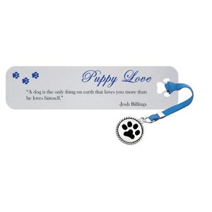 Puppy Love- Quotation Bookmark-0