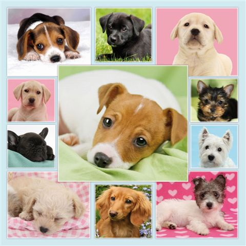 """Puppy Love"" Jigsaw puzzle-0"