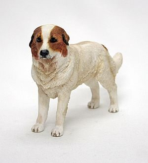 Pyrenean Mountain Dog Figurine -0