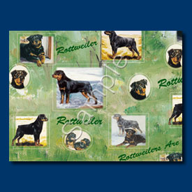 Rottweiler - Gift Wrap paper-0