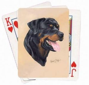 Rottweiler - Deck of Playing Cards-0