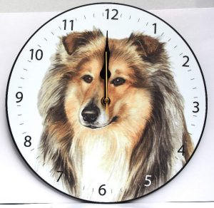 Rough Collie - Clock-0