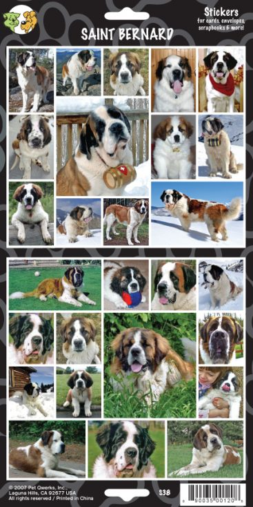 Saint Bernard - Stickers-0