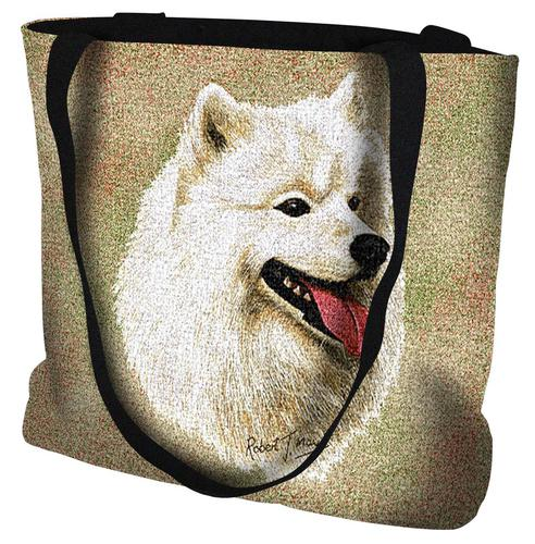 Samoyed Tote Bag-0