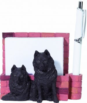 Schipperke Memo Holder-0