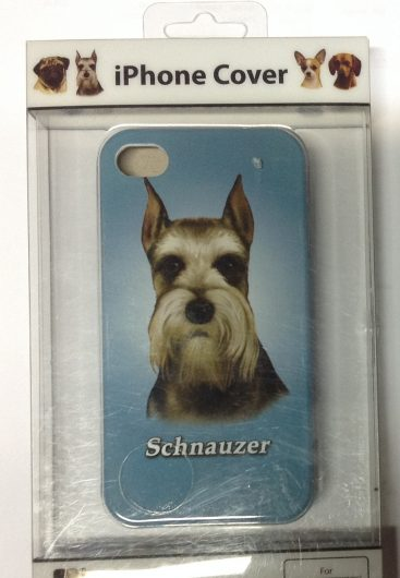 Schnauzer iPhone Cover 4 / 4s.-0