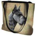 Schnauzer Tapestry Tote bag-0