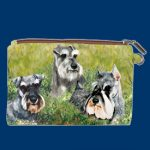 Schnauzer – Zippered Pouch-0