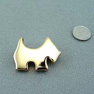 Scottish Terrier Brooch / Pendant-0