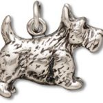 Sterling Silver Scottish Terrier  Charm-0