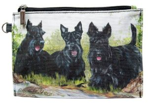 Scottish Terrier - Zippered Pouch-0