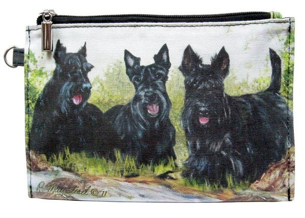 Scottish Terrier – Zippered Pouch-0