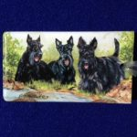Scottish Terrier Luggage Bag Tag-0