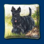 Scottish Terrier – Woven Cushion Cover-0