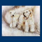 Soft Coated Wheaten Terrier – List Pad & Magnet Combo-0