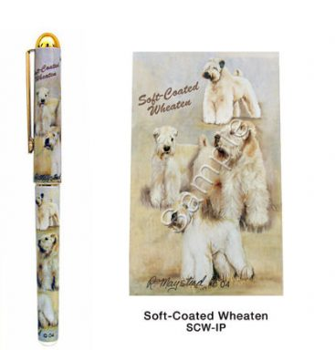 Soft-Coated Wheaten Terrier Deluxe Ink Pen-0