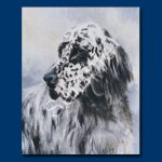 English Setter – 6 pack Note Cards-0