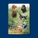 English Setters - Deck of Playing Cards-0