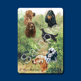 Gordon Setters - Deck of Playing Cards-0