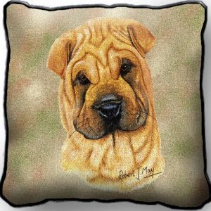 Sharpei Tapestry Cushion Cover-0