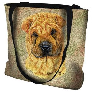 Sharpei Tapestry Tote bag-0