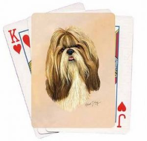 Shih Tzu - Deck of Playing Cards-0