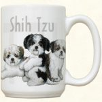 Shih Tzu Puppies Mug-0