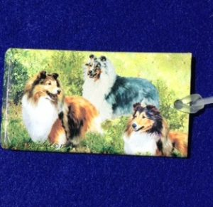 Shetland Sheepdog Luggage Bag Tag-0