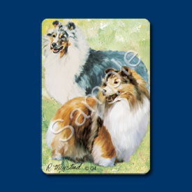 Shetland Sheepdog - Deck of Playing Cards-0