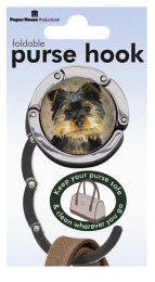 Silky Terrier - Foldable Purse Hook-0