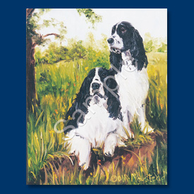 English Springer Spaniel - List Pad & Magnet Combo-0