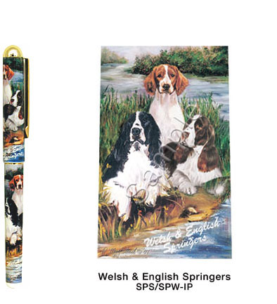 English & Welsh Springer Spaniels Deluxe Ink Pen-0