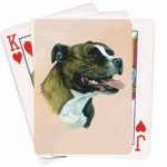 Staffordshire Bull Terrier – Deck of Playing Cards-0