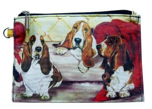 Bassett Hound - Zippered Pouch-0