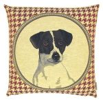 Small Belgium Tapestry Cushion Cover - Jack Russell-0