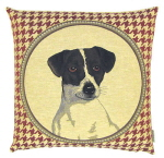 Small Belgium Tapestry Cushion Cover – Jack Russell-0