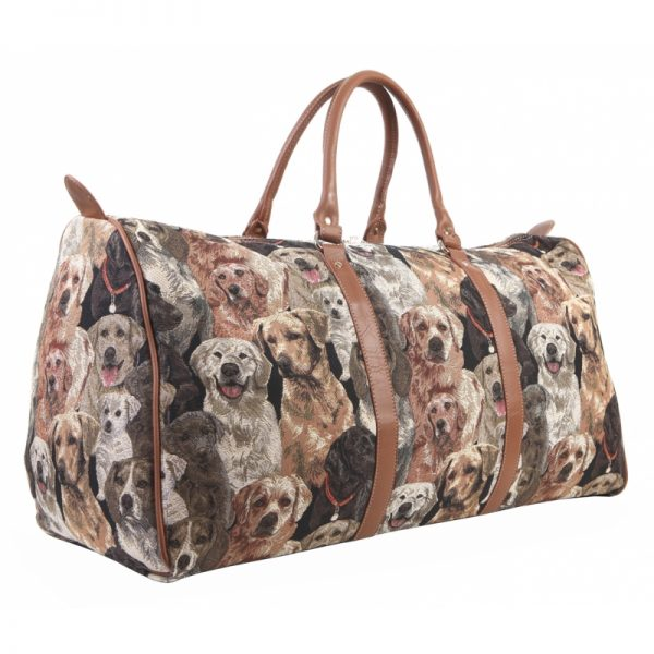Labrador & Friends Travel Holdall-0