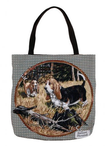 Basset Hound Tapestry Tote bag-0